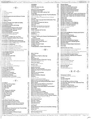 Multimedia and Videodisc Compendium PDF