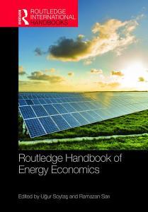 Routledge Handbook of Energy Economics
