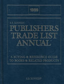 Publishers  Trade List Annual  1999 PDF