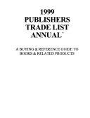 Publishers Trade List Annual 1999 Book PDF