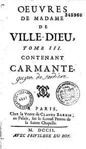 Oeuvres de Madame de Ville-Dieu...
