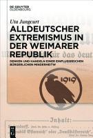 Alldeutscher Extremismus in der Weimarer Republik PDF