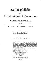 Allgemeine Kulturgeschichte von der Urzeit bis auf die Gegenwart
