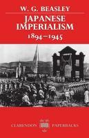 Japanese Imperialism  1894 1945 PDF