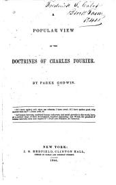 A Popular View of the Doctrines of Charles Fourier