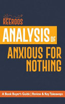 Analysis of Anxious for Nothing