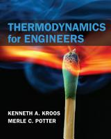 Thermodynamics for Engineers PDF