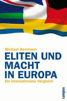 Eliten und Macht in Europa PDF