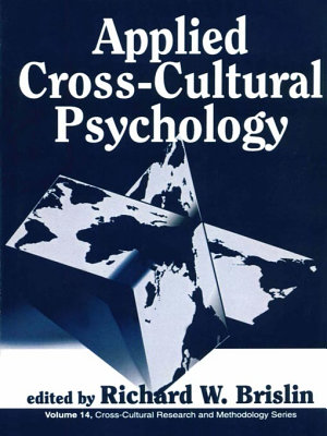 Applied Cross Cultural Psychology PDF