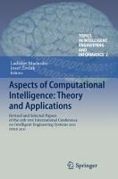 Aspects of Computational Intelligence  Theory and Applications PDF