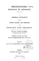A General Catalogue of All Books  Tracts and Memoirs on Zoology and Geology    PDF