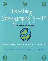 Teaching Geography 3 11 PDF