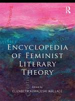 Encyclopedia of Feminist Literary Theory PDF