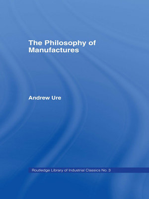Philosophy of Manufactures