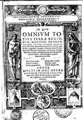 Abrahami Ortelii,... Thesaurus geographicus