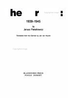 The Air War  1939 1945 PDF