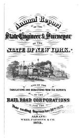 Annual Report on the Railroads of the State of New York