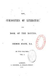 New Curiosities of Literature & Book of the Months: Volume 1