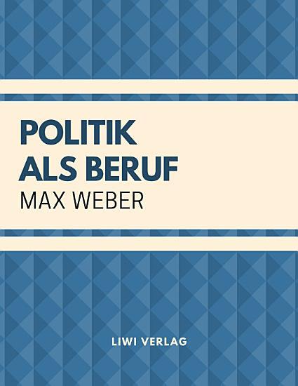 Politik als Beruf PDF