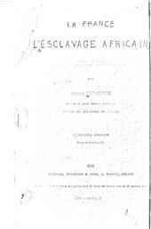 La France, l'esclavage africain et le droit de visite