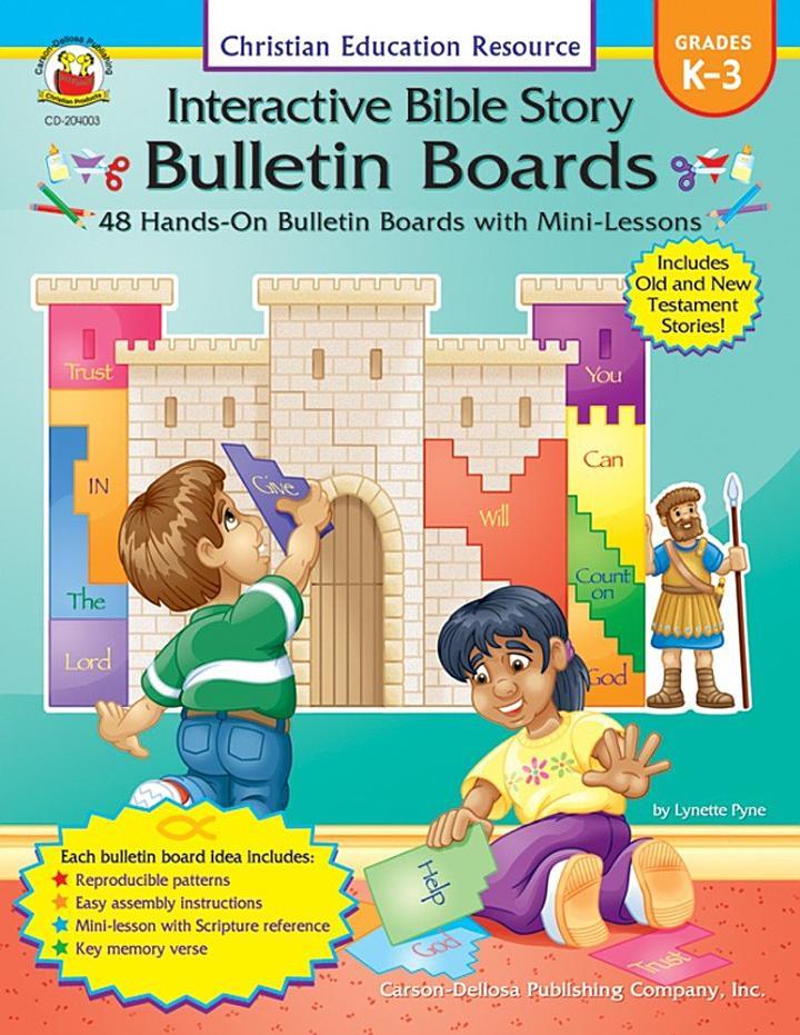 Interactive Bible Story Bulletin Boards, Grades K - 3