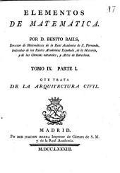 pt. 1. Que trata de la arquitectura civil