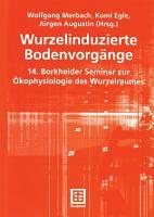 Wurzelinduzierte Bodenvorg  nge PDF