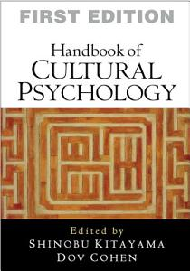 Handbook of Cultural Psychology Book