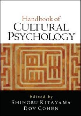 Handbook of Cultural Psychology