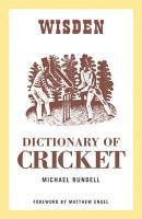 Wisden Dictionary of Cricket PDF