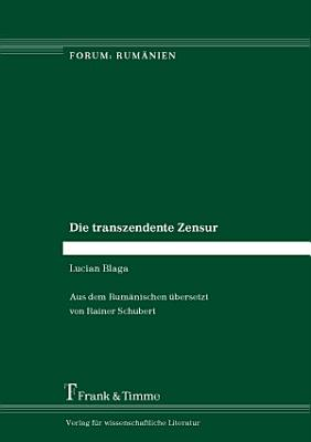Die transzendente Zensur PDF