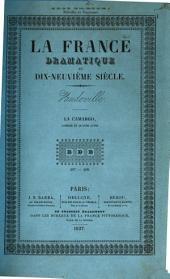 La Camargo, ou l'opéra en 1750: comédie en quatre actes, melée de chants