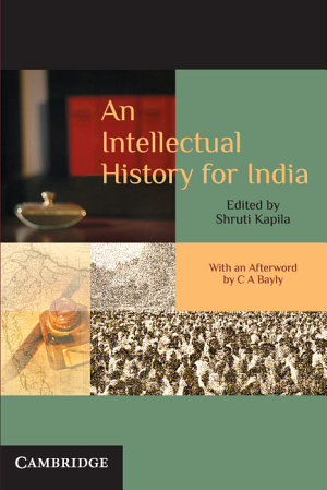 An Intellectual History for India