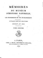 Mémoires du Muséum d'Histoire Naturelle: Volume 11
