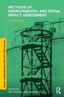 Methods of Environmental and Social Impact Assessment PDF