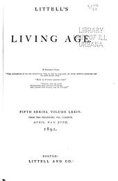 Littell's Living Age: Volume 189