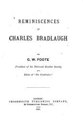 Reminiscences of Charles Bradlaugh