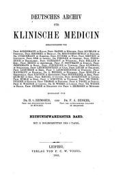 Deutsches Archiv für klinische Medizin: Band 29