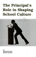 The Principal's Role in Shaping School Culture