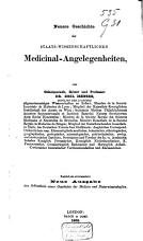 Neuere Geschichte der staats wissen schaftlichen Medicinal Angelegenheiten PDF