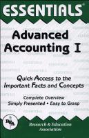 Advanced Accounting I Essentials PDF
