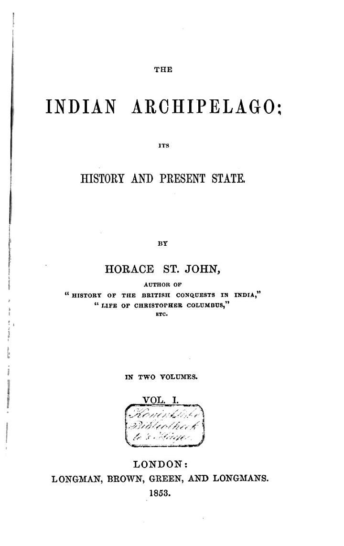 The Indian Archipelago