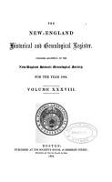The New England Historicaland Genealogical Register PDF