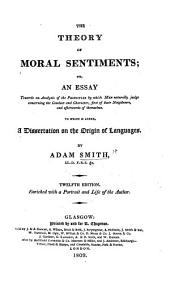 The theory of moral sentiments ... The eleventh edition, etc