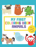 My First Coloring Book Animals PDF