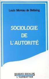 Sociologie de l'autorité
