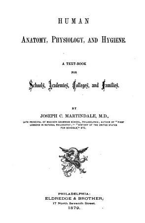 Human Anatomy  Physiology  and Hygiene PDF
