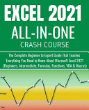 Excel 2021 All-In-One Crash Course
