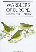 Warblers of Europe, Asia, and North Africa