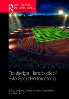 Routledge Handbook of Elite Sport Performance PDF
